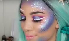 Как русалочка: блогеры раскрыли секрет макияжа как у Ариэль