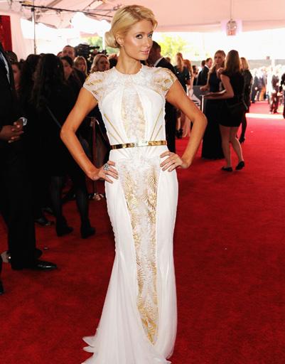 """Пэрис Хилтон (Paris Hilton) на """"Грэмми""""-2012"""