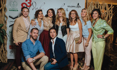 Сати Казанова устроила Organic party в свой день рождения
