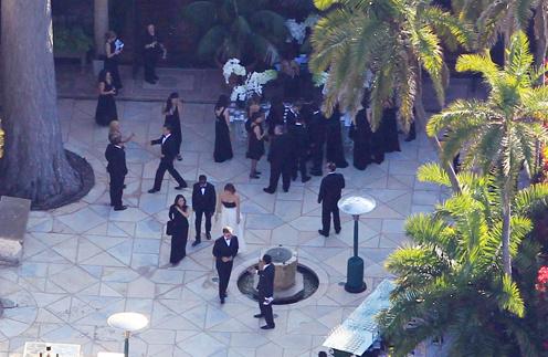 Свадьба Ким прошла в поместье Soto Il Monte