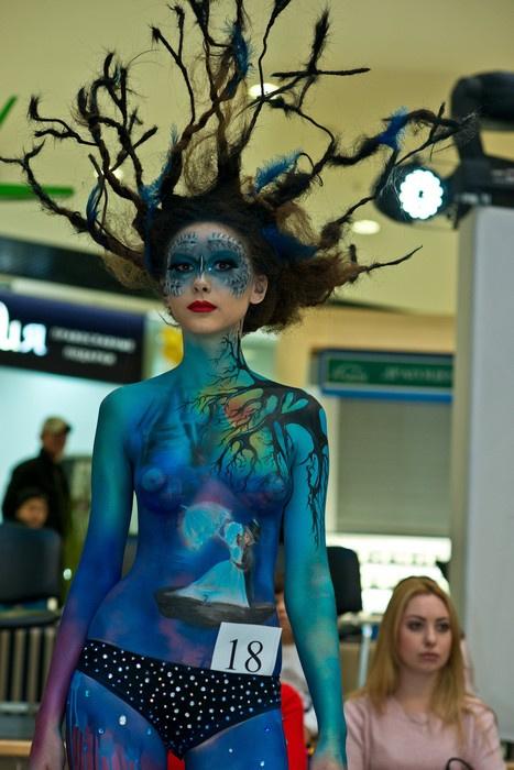 Первый национальный открытый независимый чемпионат по парикмахерскому искусству, декоративной косметике и ногтевому сервису