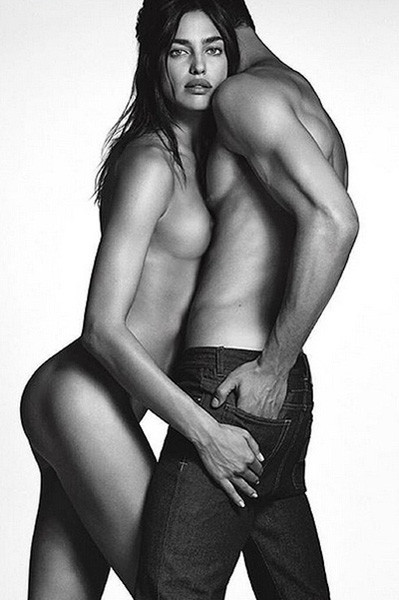 Ирина Шейк в рекламной кампании Givenchy