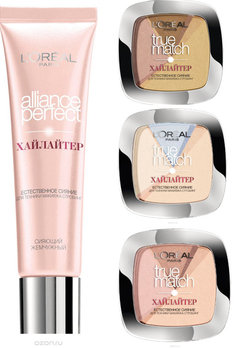L'Oreal Paris, Хайлайтеры Alliance Perfect