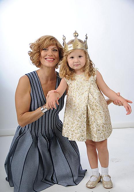 Елена с дочкой, фото