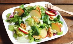 Салат: сельдерей, морковь и яблоко