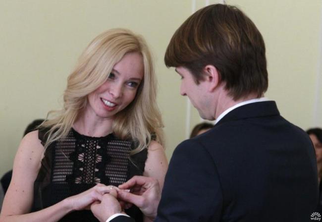 Алексей Ягудин и Татьяна Тотьмянина поженились