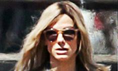 Сандра Буллок покрасилась в блондинку
