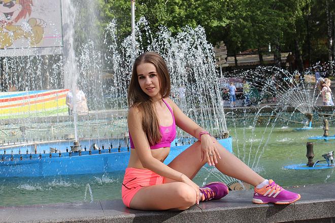 Екатерина Алешина, фотопроект Woman's Day, фото