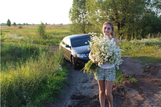 девушки и автовождение