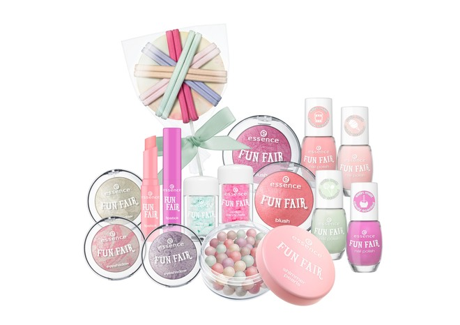 Essence, сахарная коллекция fun fair