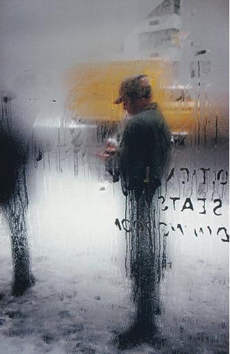 Сол Лейтер «Снег», 1960