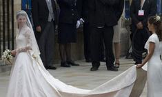 Свадебный наряд Кейт Миддлтон выставят в Букингемском дворце
