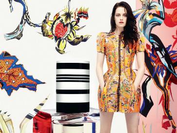 Кристен Стюарт (Kristen Stewart) в рекламе аромата Florabotanica от Balenciaga