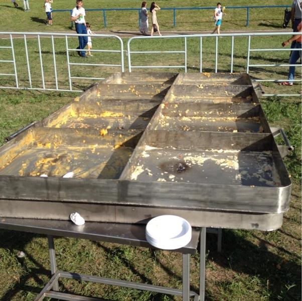 На фестивале «Скорлупино» приготовят яичницу из 2 тысяч яиц