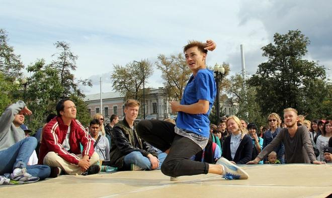 Лучшие танцоры Иркутска