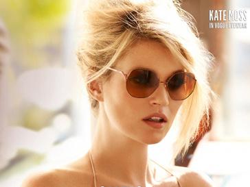 Кейт Мосс для Vogue Eyewear