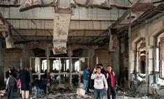 Авиация НАТО разбомбила дворец Муаммара Каддафи