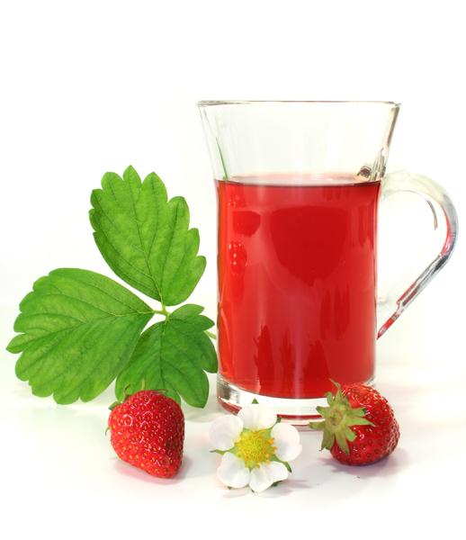 Клубничный чай с матэ