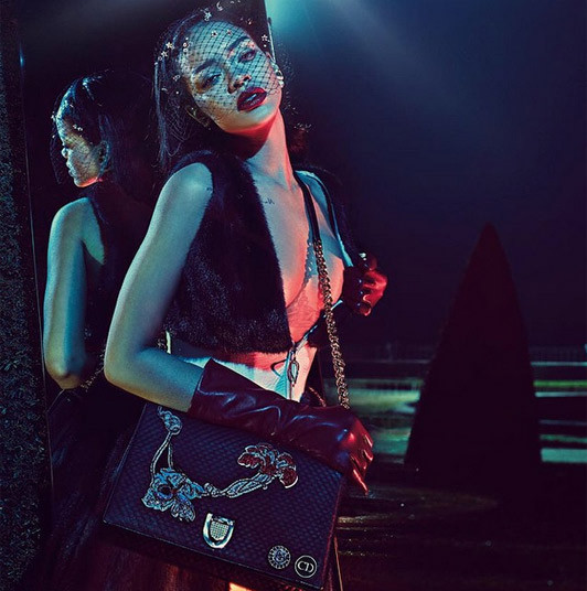 Рианна в ролике Dior