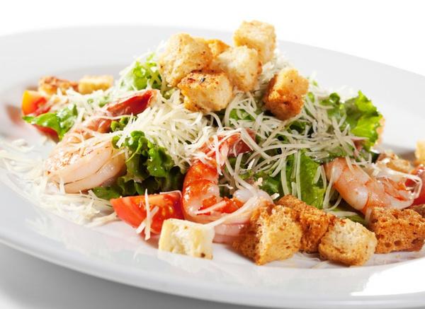 как приготовить салат с креветками рецепты