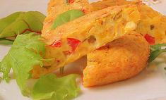 Запеканка с сыром и кукурузой