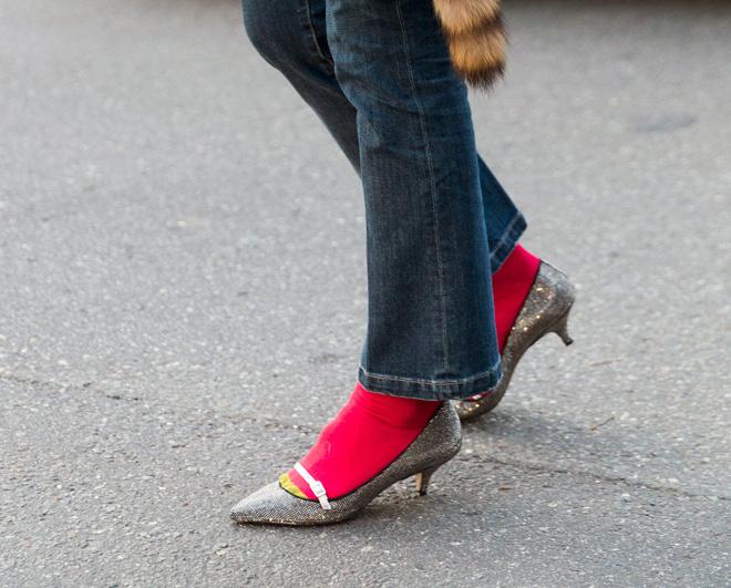 Носки с туфлями - нонсенс, по мнению Эвелины Хромченко