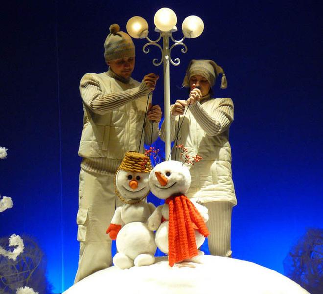 «Солнышко и снежные человечки» спектакль