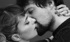 Крупным планом: жаркий поцелуй Козловского с невестой