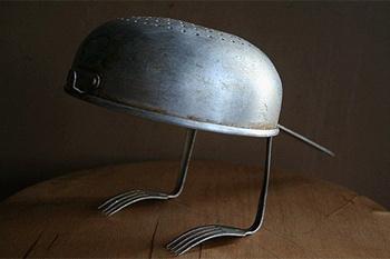 Владимир Лило, скульптура из серии «Столовые игрушки»