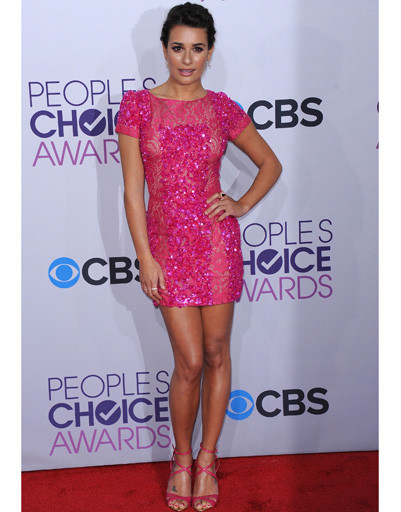 Лиа Мишель (Lea Michele) на People's Choice Awards 2013