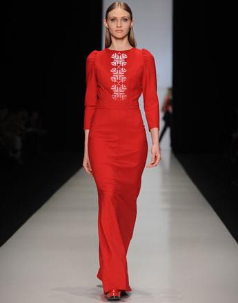Показ коллекции BORODULIN'S осень-зима 2013/14 Mercedes-Benz Fashion Week Russia