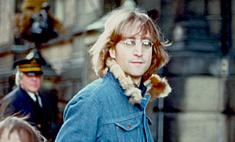 В России появился памятник Джону Леннону