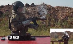 патронов отстрелять убить укороченный автомат калашникова видео