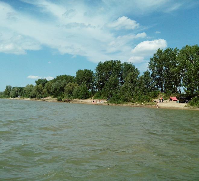Отдых, озера, река, пляж, Новая Станица