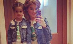 Бородина и ее дочь вновь копируют друг друга