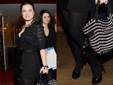 Наташа Королева появилась на презентации альбома Ирины Дубцовой вся в черном