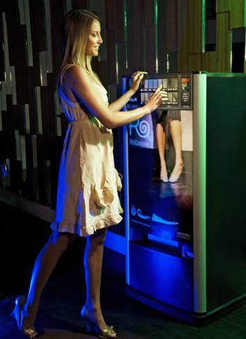 автомат, продающий балетки