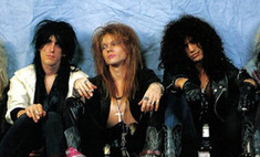 Guns N`Roses спели для мужа Глюкозы