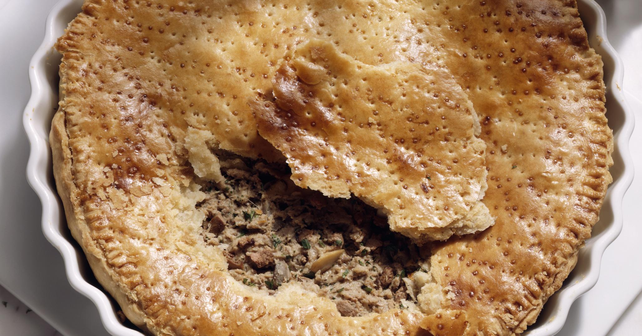 Слоеный пирог из печени рецепт