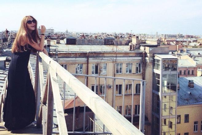 Длинноволосые девушки Тулы, фото, Елизавета Салихова