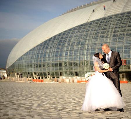Свадьба в Олимпийском парке