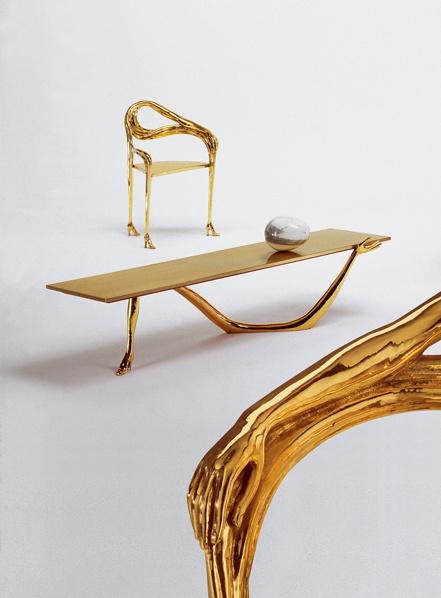 Стол и кресло Leda, фрагмент