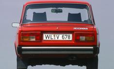 назывались экспортные версии советских автомобилей