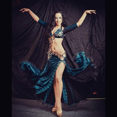 Лилия Гиматдинова самая обворожительная восточная танцовщица Самары