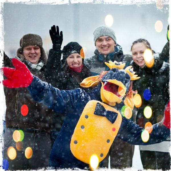 Новогодние елки в Гатчинском дворце: Бременские музыканты