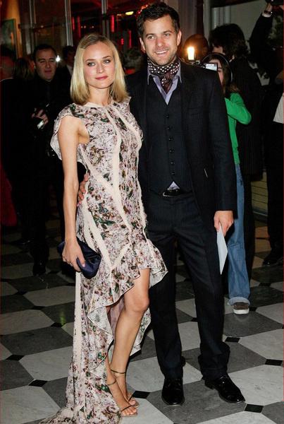 Диана Кюгер в платье Nina Ricci