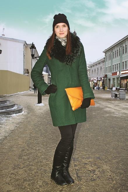 Уличная мода зима Казань-2015
