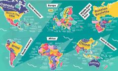 Самые популярные песни, названные в честь каждой из стран