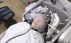 В Японии создали робота, который вымоет вам голову