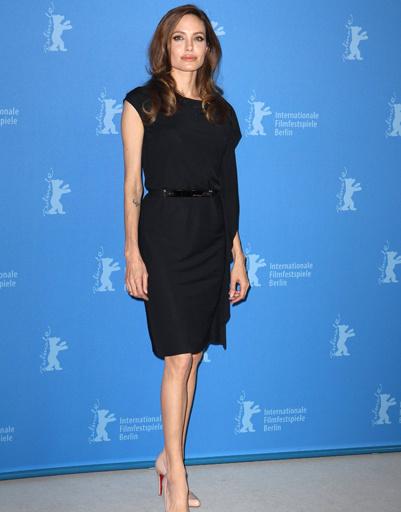 "Анджелина Джоли (Angelina Jolie) на фотоколле фильма ""В краю крови и меда"" на Берлинале-2012"